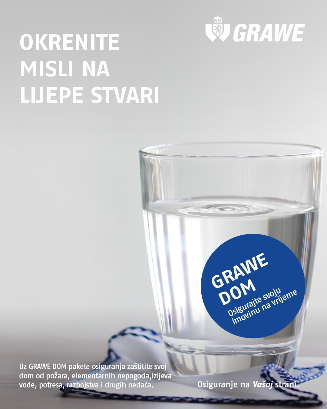 GRAWE DOM kampanja potres