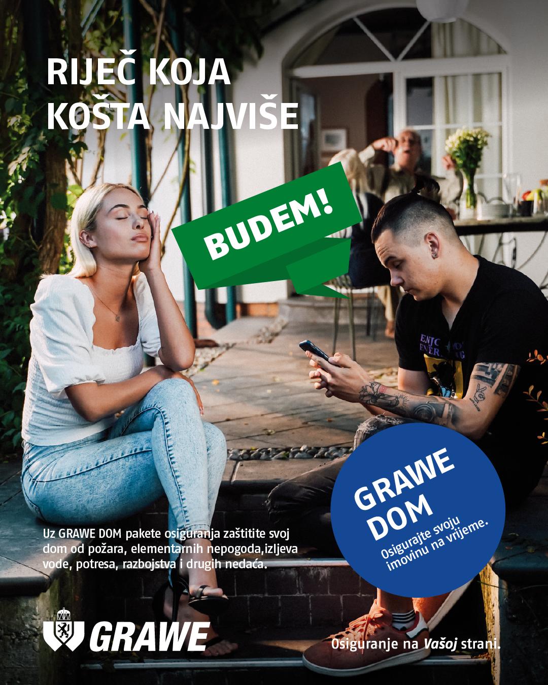 GRAWE DOM kampanja BUDEM