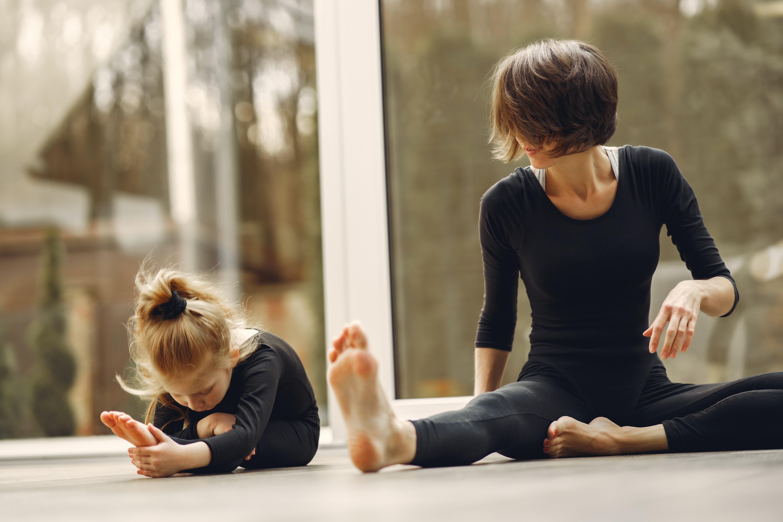 vježbanje s djecom