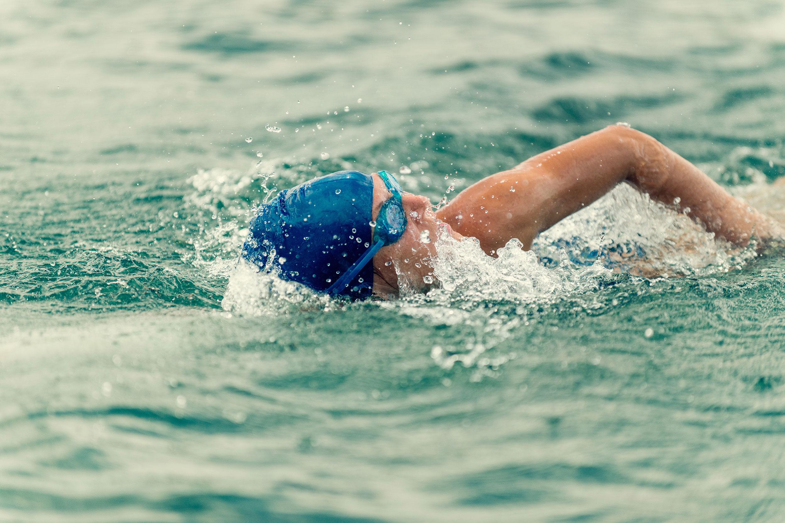 Plivač u vodi