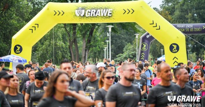 Održan 5. GRAWE noćni maraton